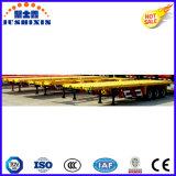 3 Kostenbelastungs-Flachbettbehälter-Schlussteil der Wellen-40t für Behälter des 1*40FT Behälter-1*20FT oder den 2*20FT Behälter
