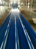 Strato d'acciaio galvanizzato del tetto ondulato Dx51d di colore 0.125-0.5mm di Ral