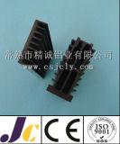 Dissipatore di calore di alluminio di ossidazione anodica in nero, profilo di alluminio dell'espulsione del dissipatore di calore (JC-P-82029)