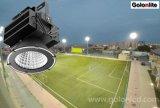 lumière professionnelle de stade des solutions 200W 300W 400W 500W DEL du projecteur DEL de cour d'inducteur de sport en plein air de constructeur