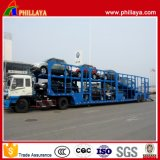 2/3 Axles Auto Transport Truck Semi Car Trailer