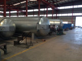 De automatische het Verwarmen van de Stoom het Vulcaniseren van het Type Autoclaaf van de Boiler/RubberAutoclaaf