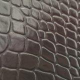 Cuoio genuino del PVC del cuoio sintetico del PVC del cuoio della valigia dello zaino degli uomini e delle donne di modo del cuoio del sacchetto Z032 del fornitore di certificazione dell'oro dello SGS