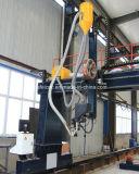 Steel Octagon Tower Poles Máquina de solda externa para torre de eletricidade