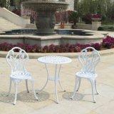 Tabela e cadeiras aluminizadas molde de /Garden /Hotel do pátio