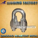 Clip malléable galvanisé par calage de câble métallique DIN1142