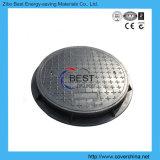 couverture de trou d'homme ronde de fibre de verre du composé SMC de 900mm