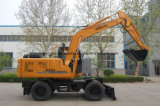 excavador de Construcion de la rueda 12t