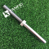 AISI316 Swatch de aço inoxidável Studes 5mm com porca (RIGHT THREADED)