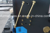 4mm M S 강철 절단을%s QC12y-4*2500 유압 깎는 기계