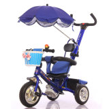 Drei EVA-Rad-Kind-Fahrrad mit Regenschirm