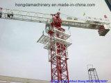 Flache Oberseite-Turmkran mit einer 6 Tonnen-Eingabe
