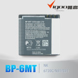 Module d'OEM de qualité et batterie Li-ion 3.7V 1000mAh du collant Bp-6m