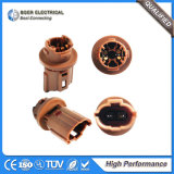 Automotive Vehicles RF Headlight Lamp Round Connectors
