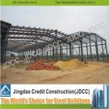 Illustrazioni del magazzino della struttura d'acciaio di disegno della costruzione