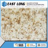 Bancadas artificiais Multicolor quentes da pedra de quartzo de Salling para o projeto da cozinha