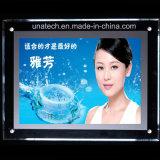 Casella chiara di cristallo di pubblicità acrilica di media di vendite calde LED