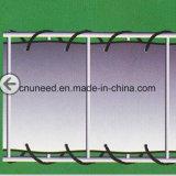 100%UV resistenza, rete fissa antivento del coperchio del balcone del PVC di Ral7016 0.75m*6m