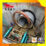 máquina aborrecida arqueada levantada 3000mm do túnel
