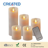 Flammenlose LED Candle Light, Remote Control LED Candle Light, LED Lighting für Wedding Favors (43-700MDSIR5)