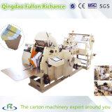 Bolsa de papel de los alimentos que hace la máquina para el transporte de comida rápida