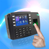 Sistema de controle de acesso do scanner de impressão digital e gravador de tempo