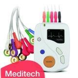 Meditech12 отведений ЭКГ холтеровский монитор 24 часа в сутки/машины, утвержденном CE ЭКГ