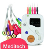 Meditech12 Lead ECG Holter de 24 horas/máquina de ECG aprobado CE