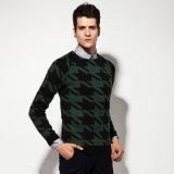 Акриловый свитер человека пуловера Knit жаккарда одежды способа шерстей