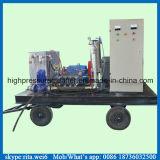100MPa de industriële Reinigingsmachine van de Pomp van het Water van de Hoge druk van de Pijp van de Condensator Schonere