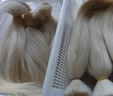 Estensioni grige dei capelli umani dei capelli