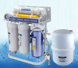 Sistema del RO del basamento del metallo con il manometro (RO-50G-11)