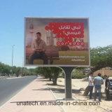 Los medios de comunicación carretera pasadizo exterior banner de publicidad de los pilares de la imagen Mega Caja de luz LED