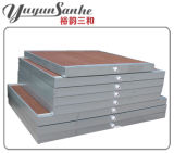温室の温度調整のためのYuyun Sanheの蒸気化冷却のパッド