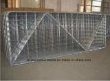 電流を通されるNのタイプ金属の塀の網