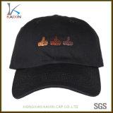 La aduana bordada se divierte los sombreros de la bola de la base del casquillo de golf