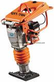 Hot Sale Gasoline Vibratory Tamping Rammer com Honda Gx100 Engine Gyt-70h