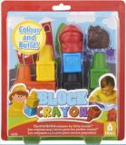 3Dカラークレヨンのギフトは子供か子供または赤ん坊のデッサンのためにセットした