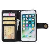 Бумажник случая iPhone 6 аргументы за мобильного телефона неподдельной кожи