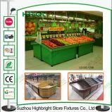 Дешевая цена одной стороны металлической фруктов для установки в стойку