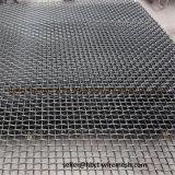 Engranzamento de fio frisado metal da resistência de abrasão para a areia