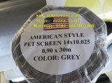Tela americana do animal de estimação do estilo da cor cinzenta