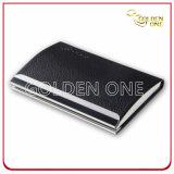 Design criativo de couro de alta qualidade caso o cartão de crédito