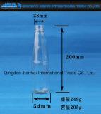 De hete Verkopende Transparante Fles van het Glas voor Melk en Sap