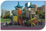 Gioco esterno dei campi da giuoco di disegno dei bambini il piccolo imposta HD-046A