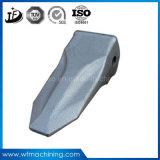 OEM ed alti denti personalizzati della benna dell'escavatore di pezzo fucinato dell'acciaio di manganese