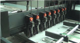 Le plein exercice de l'ordinateur portable automatique de l'école primaire livre journal étudiant sur le fil de couture et de la ligne de production d'impression flexo