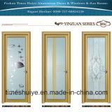 ステンレス鋼のアクセサリが付いているアルミ合金の蝶番を付けられたドア