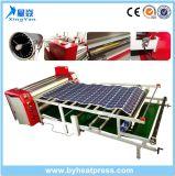 Machine de transfert de chaleur à sublimation rotative à chauffage à huile à grande vitesse