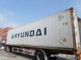 Eenheid van de carrier 20FT gebruikte de Gekoelde Container van de Adelborst van de Container 40FT Gebruikte